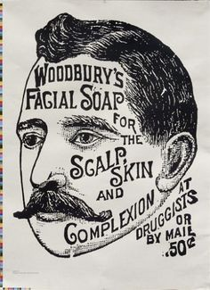 Woodbury's Facial Soap for the Scalp, Skin and Complexion at Druggists or by Mail