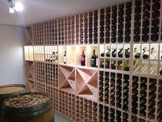 Weinregale für den Weinkeller - Kundenimpressionen