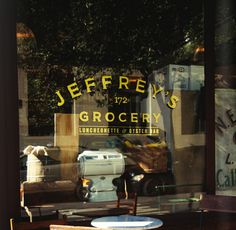 Jeffrey's Grocery, 172 Waverly Place, NYC.  Perfect size spot, delicious seafood and oysters, Black Star on the stereo. Loved it!