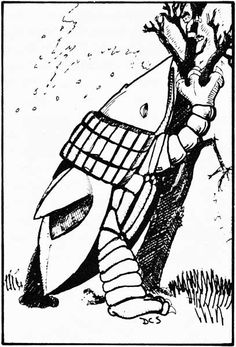 Carrion crawler (from the 1st Edition Monster Manual