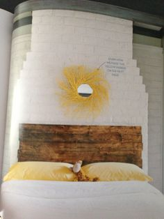 """Search Results for """"Headboard"""" – hayes everyday Diy King Size Headboard, Wood Headboard, Headboard Ideas, Diy Pallet Projects, Home Projects, Yellow Mirrors, Headboards For Beds, Pallet Headboards, My New Room"""