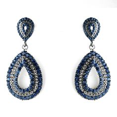Navy Blue Wedding or Prom Earrings - perfect for your bridesmaids! Keywords: #navyblueweddings #jevelweddingplanning Follow Us: www.jevelweddingplanning.com www.facebook.com/jevelweddingplanning/ Navy Earrings, Prom Earrings, Wedding Earrings Drop, Tiny Stud Earrings, Sapphire Earrings, Rhinestone Earrings, Crystal Earrings, Bridesmaid Accessories, Bridal Accessories