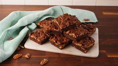 Pecan Pie Brownies  - Delish.com