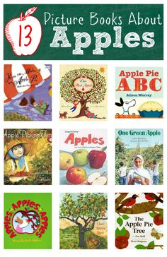 Books about apples for kids - full reviews for each book from a mom and her kids too.