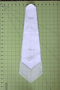 how to make a skinny tie without sewing