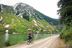 I want to do this bike ride. World's longest bike trail and it starts in my own backyard!!