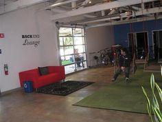 Recreational area w/ turf and swings