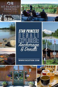 Star Princess® Denali Explorer: Anchorage and Denali