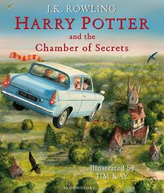 J.K. Rowling — Harry Potter and the Chamber of Secrets, Illustrated Edition (UK, Hardcover)