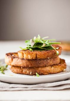 Parmesan and miso French toast recipe