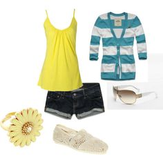 cute casual summer.