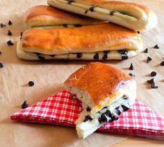 brioches suisses pains suisse crème pâtissière pépites de chocolat goûter viennoiseries