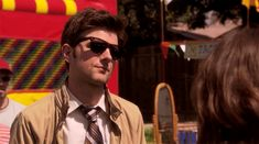 """He looks super hot in shades. 