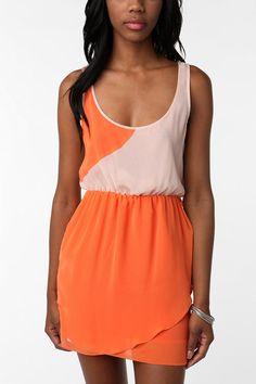 Orange Dress #2dayslook #kelly751 #OrangeDress  www.2dayslook.com  perfect for TN game! Go vols!!