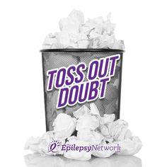 Sometimes, we find ourselves plagued by doubt and the best thing we can do is toss it out!