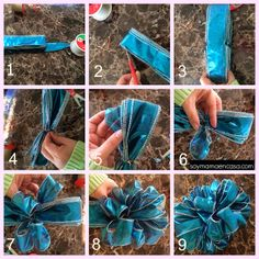 1000 images about mo os on pinterest paper bows bows - Lazos grandes para regalos ...