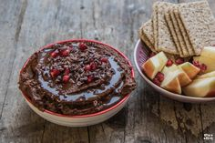 Schoko Hummus – Gesunder Dip