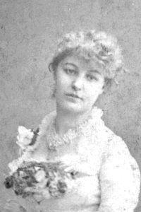 """H.M.S. Pinafore,"" Miss Duglas Gordon as Josephine, 1878, DOC touring production."