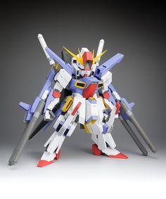 SD MSZ-010 ΖΖ Gundam - WXY | PAPER