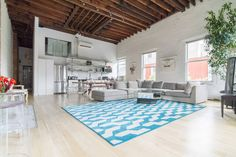 Check out this awesome listing on Airbnb: Entire floor 3000 sq feet Bowery Penthouse Loft - Lofts for Rent in New York
