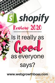 With 1million  registered merchants, many of whom are running multiple online stores, Shopify has played a significant role in the growth of eCommerce worldwide. Why are so many people choosing Shopify as their eCommerce solution? Is it really as good as everyone says? Are there any drawbacks to using Shopify? #shopifyblog #dropshipping #startbusiness #shopifystock Make Real Money Online, Ecommerce Solutions, Ecommerce Platforms, Starting A Business, Affiliate Marketing, Digital Marketing, Good Things, Running, This Or That Questions