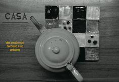 Poggia pentola in ceramica, design by Atelier Daniela Levera. Salva manteles en ceramica diseño made in italy, ceramic trivet
