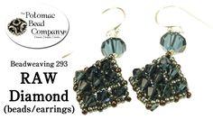 How to Make RAW Diamond Beads or Earrings
