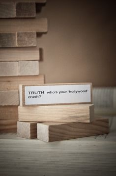 boxwoodclippings_valentines gift idea: truth or dare jenga