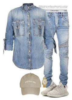 A menswear look from May 2016 featuring balmain men's jeans, Balmain and cap hats. Browse and shop related looks. Dope Outfits For Guys, Swag Outfits Men, Stylish Mens Outfits, Cool Outfits, Casual Outfits, Men Casual, Teen Boy Fashion, Tomboy Fashion, Moda Fashion