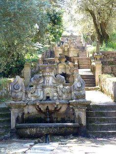 Braga, a Roma portuguesa. Escadório do Mosteiro de Tibães