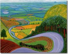 Garrowby Hill by David Hockney