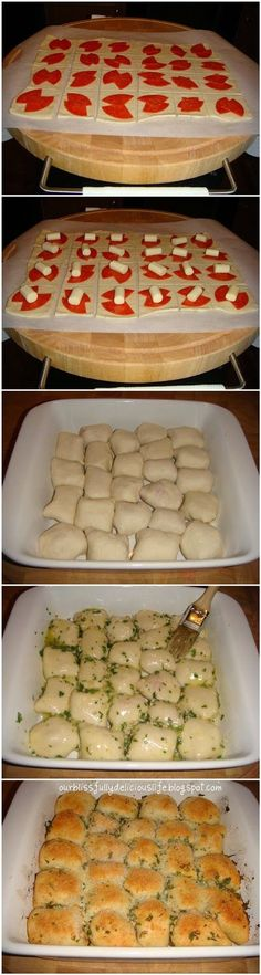 Stuffed Pizza Rolls...look soooo good! @ erin mirabal.