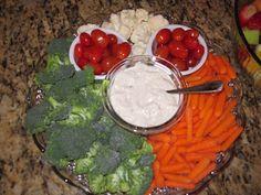 Rachael's Kitchen Adventures: Mickey Mouse Birthday Party Veggie tray