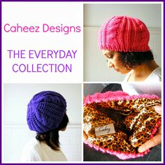 Product Review - Caheez Designs by Carla Helene...designed to protect your hair