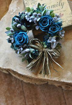 フラワーリース|プリザーブド 贈呈花|ブレーメンウェディング