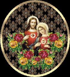 Gifs y Fondos PazenlaTormenta: IMÁGENES DE LOS SAGRADOS CORAZONES DE JESÚS Y DE MARÍA