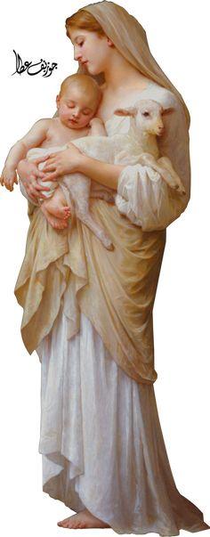 Mary - Jesus - Lamp by joeatta78 on DeviantArt