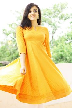 #happiness in a #yellow #anarkali