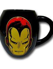 Iron Man Helmet & Logo 18oz Oval Mug