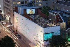 Austin's Arthouse theater, designed by New York's Lewis.Tsurumaki.Lewis Architects