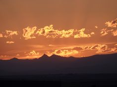 Sunset at Shoshoni, WY. Wyoming Skies photo by Mindy McKee