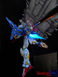 Amazing Gunpla Diorama: MG GAT-X105 Aile Strike Gundam Ver. RM. Work by 最后的月牙天冲 Photoreview Hi Res Images http://www.gunjap.net/site/?p=243566