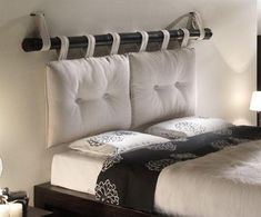 Diy headboards 456200637254368326 - Removable DIY Bed Headboard Ideas Bringing Warmth and Softness into Bedroom Decor Source by sonjasolvik Diy Bed Headboard, Headboard Designs, Bed Pillows, Headboard Ideas, Bed Curtains, Homemade Headboards, Diy Headboards, Diy Bedroom Decor, Home Decor