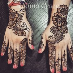 Henna today for a lovely mom to be, in preparation for her baby shower! Very Simple Mehndi Designs, Traditional Mehndi Designs, Cool Henna Designs, Indian Mehndi Designs, Mehndi Designs Book, Mehndi Designs For Beginners, Mehndi Simple, Mehndi Design Images, Beautiful Mehndi Design