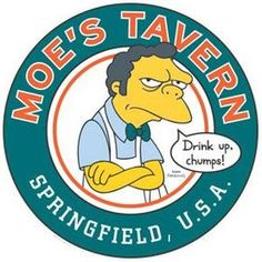 The Simpsons - Moe& Tavern {OT} Come in, take a seat and . Cartoon Tv, Cartoon Shows, Best 90s Cartoons, Digital Foto, Simpsons Art, Funny Drawings, Take A Seat, The Duff, Surf Shop