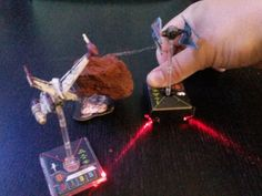 Star Wars X-Wing Miniatures 40mm laser base by crashprone - Thingiverse