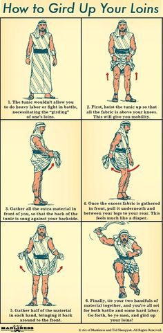 A Manly Biblical Skill: How to Gird Up Your Loins in 6 Easy Steps