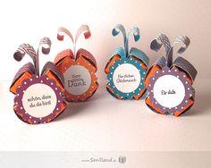 Gastgeschenke Schmetterlinge von Smilland auf DaWanda.com
