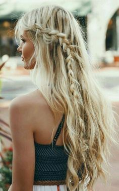 Side braid..