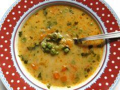 Sajtos zöldségleves (Gluténmentesen is) Cheeseburger Chowder, Soup, Ethnic Recipes, Soups
